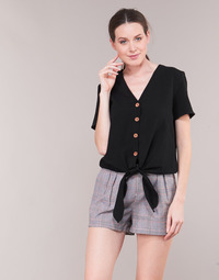 Textil Mulher Tops / Blusas Betty London KOUDILE Preto