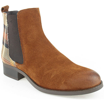 Sapatos Mulher Botins Walkwell L Ankle boots CASUAL Camel