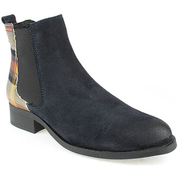 Sapatos Mulher Botins Walkwell L Ankle boots CASUAL Azul