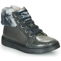 Sapatos Rapariga Sapatilhas de cano-alto Catimini MARCELLE Cinza