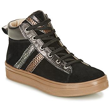 Sapatos Rapariga Sapatilhas de cano-alto GBB KIBEL Preto