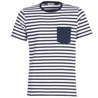 Textil Homem T-Shirt mangas curtas Casual Attitude KARALE Marinho / Branco