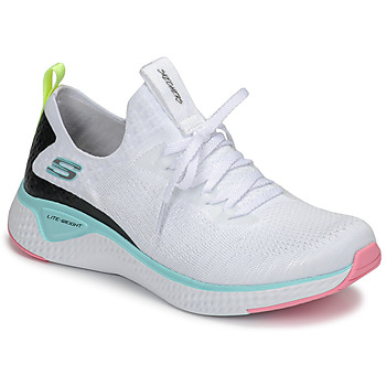Sapatos Mulher Fitness / Training  Skechers FLEX APPEAL 3.0 Branco / Rosa / Azul