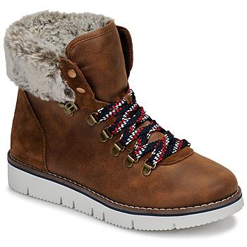 Sapatos Mulher Botas baixas Skechers BOBS ROCKY Castanho