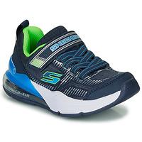 Sapatos Rapaz Sapatilhas Skechers SKECHERS BOY Azul / Verde