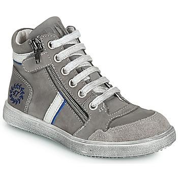 Sapatos Rapaz Sapatilhas de cano-alto Ramdam HOUSTON Cinza