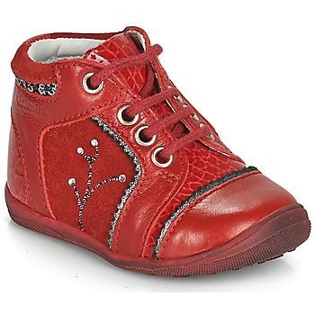Sapatos Rapariga Botas baixas Catimini CALINE Vermelho