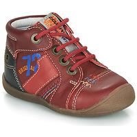 Sapatos Rapaz Botas baixas Catimini CYRUS Vermelho