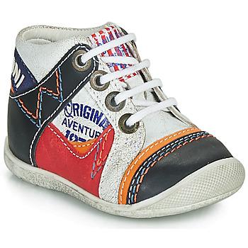 Sapatos Rapaz Botas baixas Catimini CACHALOT Branco