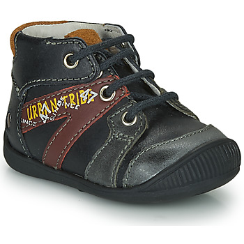 Sapatos Rapaz Botas baixas GBB LEWIN Preto