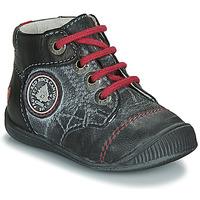 Sapatos Rapaz Botas baixas GBB LINDFORD Preto