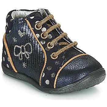 Sapatos Rapariga Botas baixas Catimini CARASSIN Marinho / Ouro