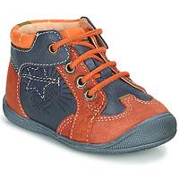 Sapatos Rapaz Botas baixas Catimini CARACAL Azul