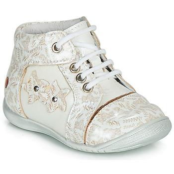 Sapatos Rapariga Botas baixas GBB MAE Branco