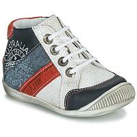 Sapatos Rapaz Botas baixas GBB MAURICE Branco