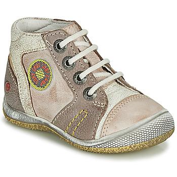 Sapatos Rapaz Botas baixas GBB MONTGOMERY Bege