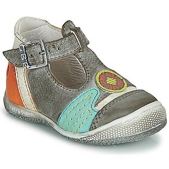 Sapatos Rapaz Sandálias GBB MARIO Cinza / Azul