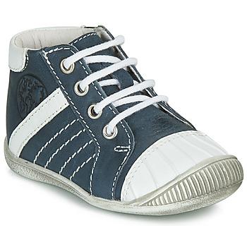 Sapatos Rapaz Botas baixas GBB MATYS Azul