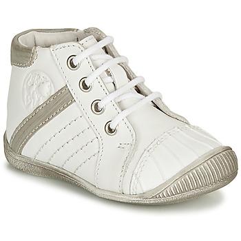 Sapatos Rapaz Botas baixas GBB MATYS Branco