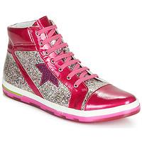 Sapatos Rapariga Sapatilhas de cano-alto Ramdam KATO Rosa