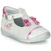 Sapatos Rapariga Sandálias Catimini CALATHEA Branco / Rosa
