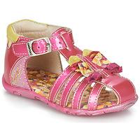 Sapatos Rapariga Sandálias Catimini CYGNE Rosa