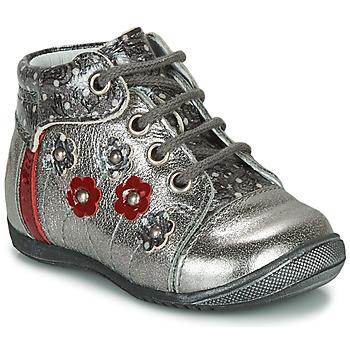 Sapatos Rapariga Botas baixas GBB NAYANA Prata