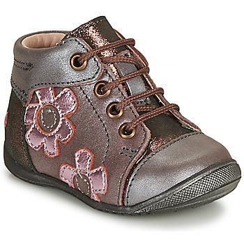 Sapatos Rapariga Botas baixas GBB NEIGE Violeta / Rosa