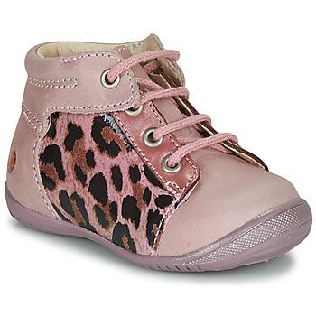 Sapatos Rapariga Botas baixas GBB NELLY Rosa / Preto