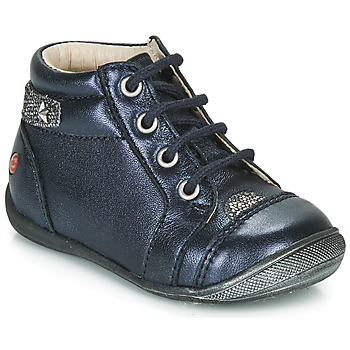 Sapatos Rapariga Botas baixas GBB NICOLE Marinho / Prata