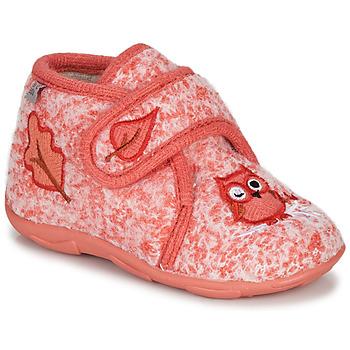 Sapatos Rapariga Chinelos GBB NEOPOLO Rosa / Vermelho