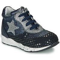 Sapatos Rapariga Sapatilhas Ikks KAREN Azul / Prata