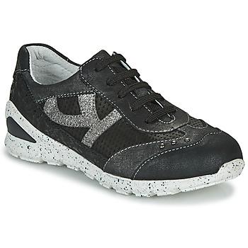 Sapatos Rapariga Sapatilhas Ikks FIONA Preto