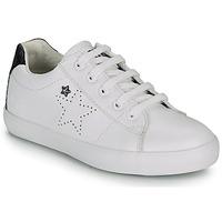 Sapatos Rapariga Sapatilhas Ikks MOLLY Branco / Preto