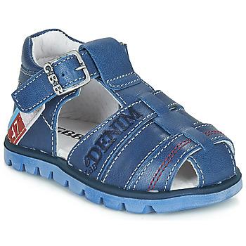 Sapatos Rapaz Sandálias GBB PELAGE Azul