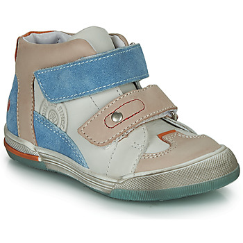 Sapatos Rapaz Sapatilhas de cano-alto GBB PATRICK Cinza / Azul