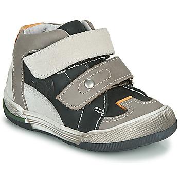 Sapatos Rapaz Sapatilhas de cano-alto GBB PATRICK Cinza