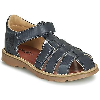 Sapatos Rapaz Sandálias GBB PATERNE Marinho