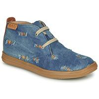 Sapatos Rapariga Sapatilhas de cano-alto Achile ANDREA Azul
