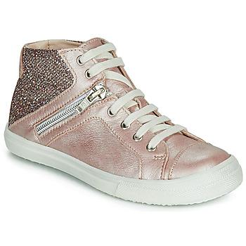 Sapatos Rapariga Sapatilhas de cano-alto Achile KAMI Rosa