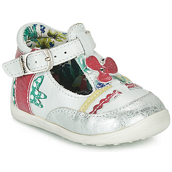 Sapatos Rapariga Sandálias Catimini PALOMINO Branco / Rosa
