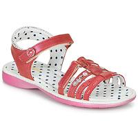 Sapatos Rapariga Sandálias Catimini PASTEL Rosa