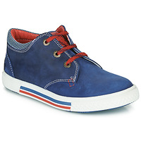 Sapatos Rapaz Sapatilhas Catimini PALETTE Azul / Vermelho