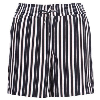 Textil Mulher Shorts / Bermudas Only ONLPIPER Marinho / Branco
