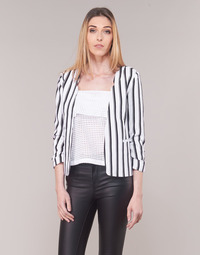 Textil Mulher Casacos/Blazers Only ONLPIPER Branco / Preto