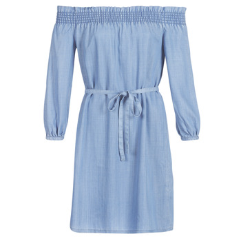 Textil Mulher Vestidos curtos Only ONLSAMANTHA Azul / Claro