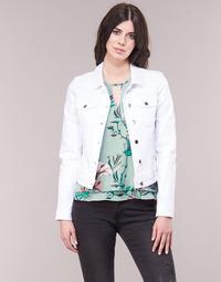 Textil Mulher casacos de ganga Only ONLTIA Branco