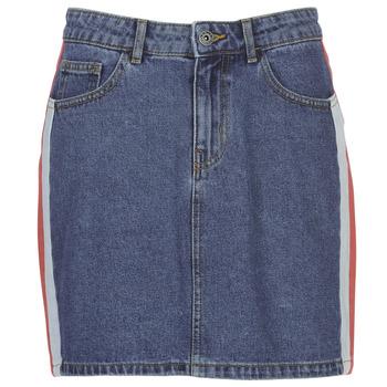 Textil Mulher Saias Only ONLCHRISTY Azul