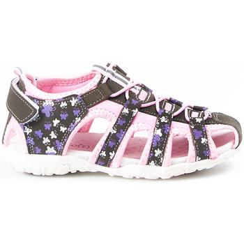 Sapatos Criança Sandálias desportivas Huran SANDALIAS  400121 GRIS-ROSA Gris
