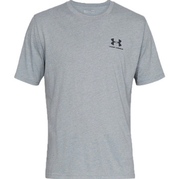 Textil Homem T-Shirt mangas curtas Under Armour Sportstyle Left Chest Tee 1326799-036